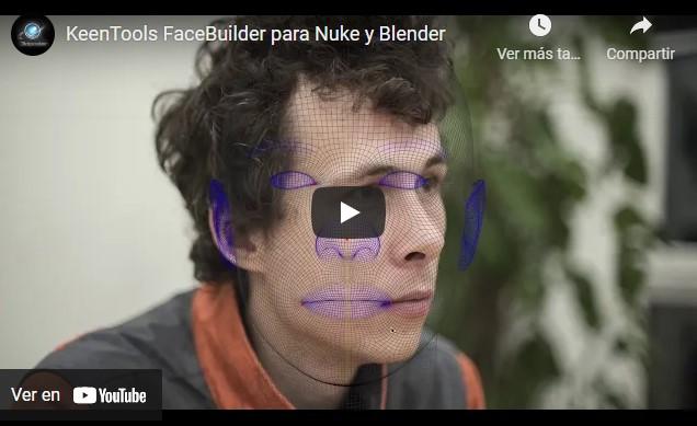 KeenTools FaceBuilder para Blender, quien lo conozca de Nuke ya sabrá para qué se utiliza, ayuda a construir modelos 3D a partir de caras.