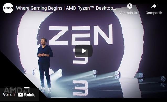 AMD revela sus nuevos productos en un evento online, hoy mismo a las 18:00 horas AMD empezará a emitir su conferencia para anunciar los nuevos procesadores.