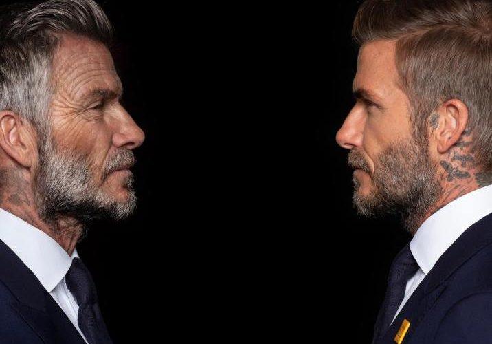 Envejecimiento facial de David Beckham