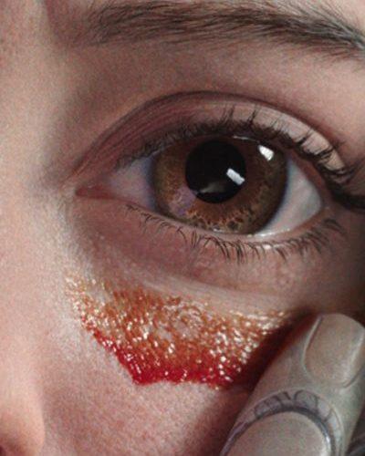 Los ojos de Alita Arcángel de Batalla