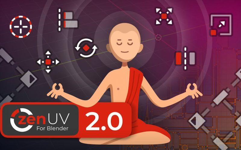 Zen UV para Blender
