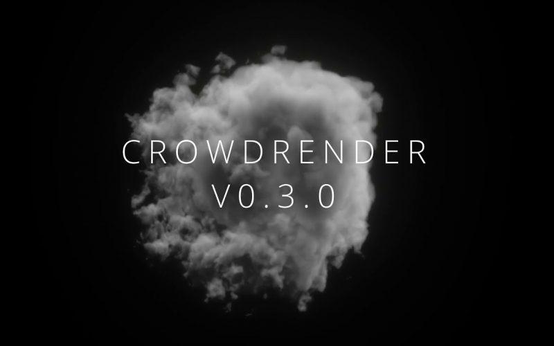 Crowdrender para render rápido en Blender