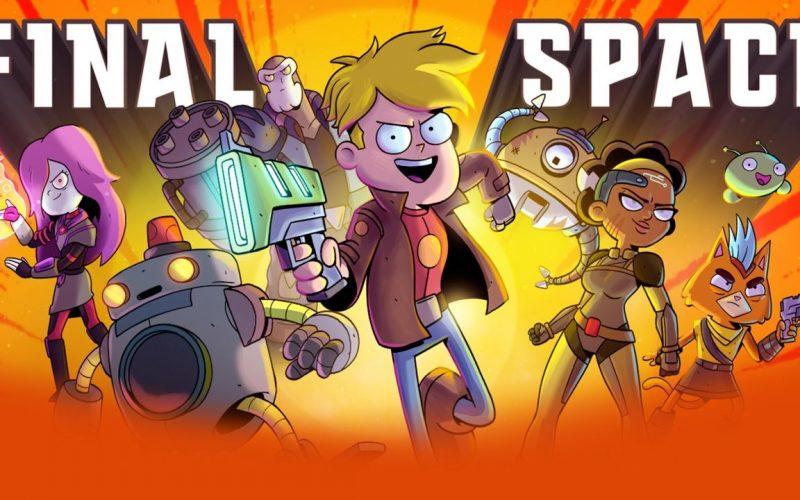 El espacio final serie de animación 2D con asteroides y agujeros negros, y atención porque es ya la tercera temporada, la nueva temporada llega el 20 de marzo.