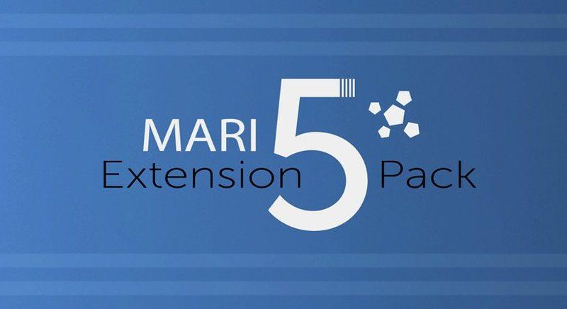 Mari Extension Pack 5 publicada por Jens Kafitz, la última versión de su conjunto de herramientas para el software de pintura 3D de Foundry.