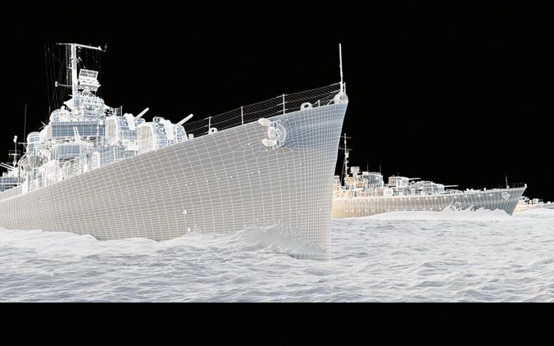 Greyhound destructor USS Keeling
