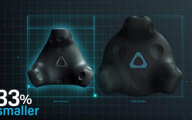 HTC VIVE actualiza sus rastreadores de RV.