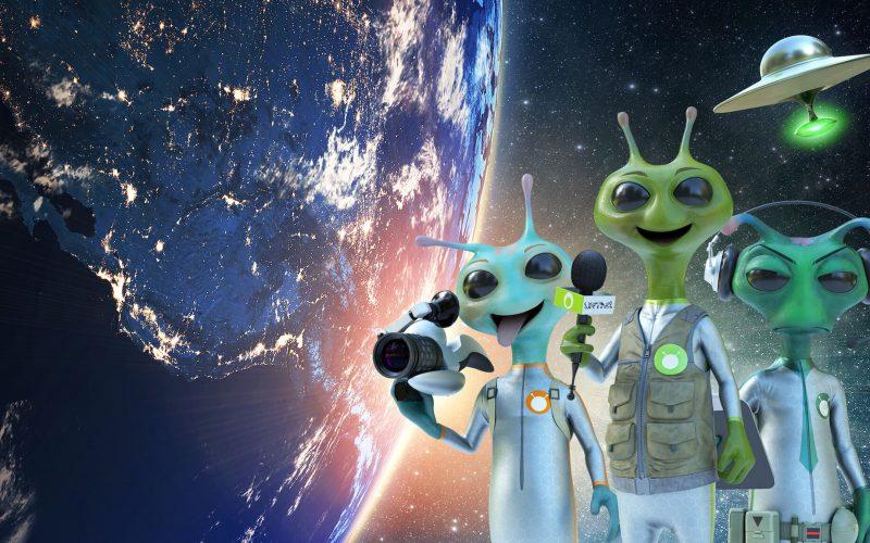 La segunda temporada de Alien TV toca tierra el 19 de marzo en la plataforma de streaming Netflix.