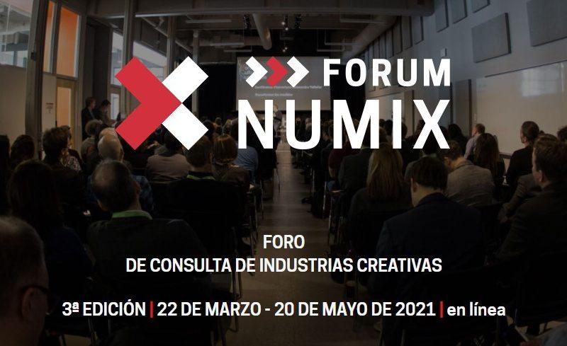 Numix Forum conferencias creativas resultantes de la fusión del Foro de consulta de industrias creativas organizado por Quebec y Numix.