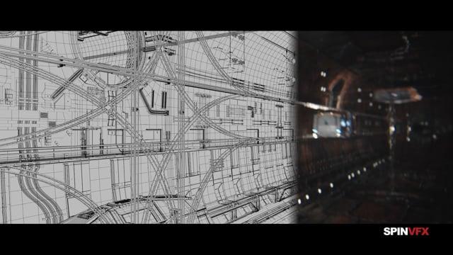 The Expanse desglose VFX realizado por SpinVFX, compañía que a trabajado en los efectos visuales de la producción realizando un gran trabajo.