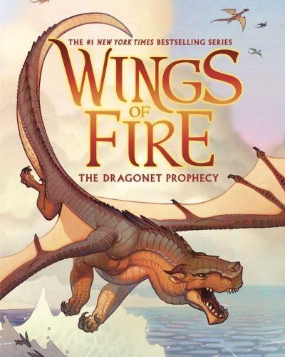 Alas de fuego serie animación para toda la familia, basada en los libros de Tui T. Sutherland, la saga épica de fantasía de la Warner Bros.