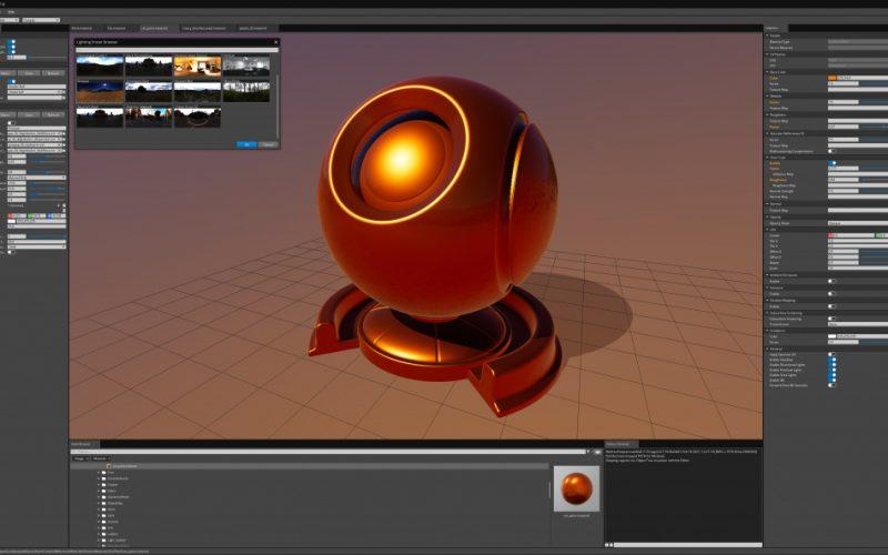 Avance Atom render para Lumberyard motor de juegos. Amazon ha publicado un adelanto de Atom, el nuevo motor de render para Lumberyard.