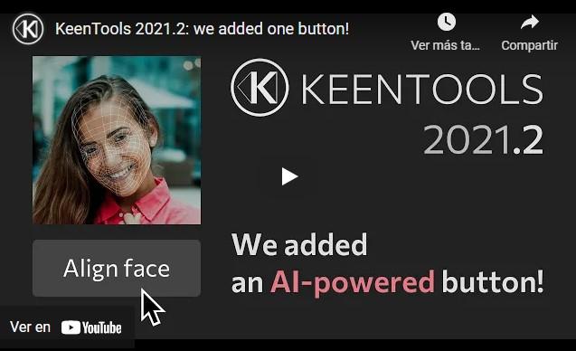 KeenTools FaceBuilder 2021.2 nuevas características