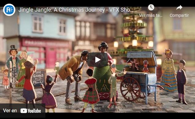 Framestore revela secuencias animadas de Jingle Jangle
