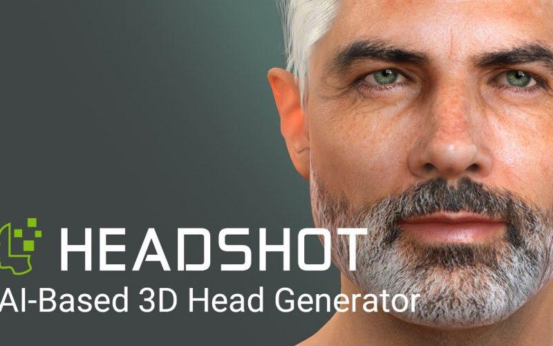 HeadShot para Character Creator en humanos digitales, hace unos días hablábamos de cómo la industria está avanzando en la creación realista.