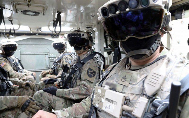 HoloLens para el ejercito de los Estados Unidos. Microsoft gana el mega contrato del Ejército de los Estados Unidos para suministrar HoloLens.