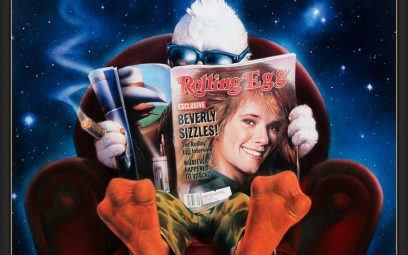 Howard the Duck remasterizado a 4K UHD. Cumpliendo el 35 aniversario del estreno de la película Howard the Duck, adaptación de cómics Marvel.