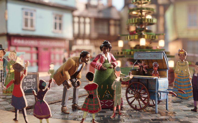 Framestore revela secuencias animadas tras bambalinas de la película Jingle Jangle, desarrollando un sistema para hacer que cada fuera única.