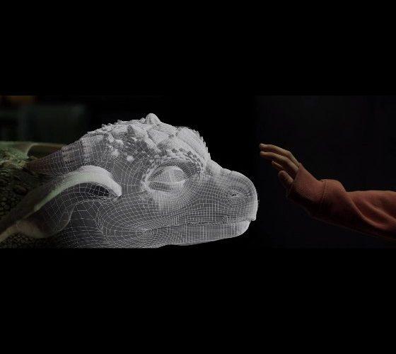 La chica dragón desglose de efectos visuales. La película es una historia conmovedora sobre una niña huérfana que encuentra un dragón.