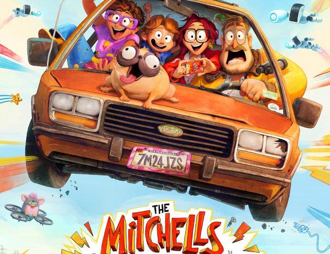 Los Mitchell contra las máquinas cine de animación, viene firmada por los responsables de películas como Lego, o Spider-Man.