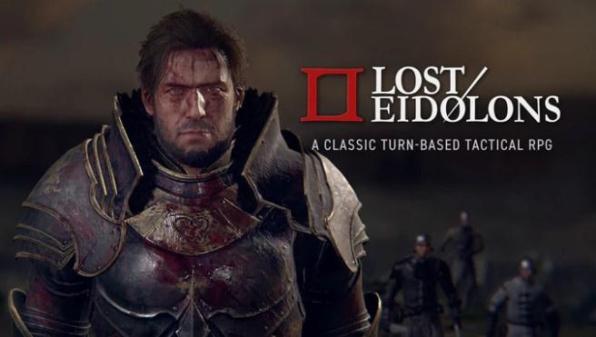 Lost Eidolons cinemática de presentación para buscar financiación. El videojuego busca financiación en Kickstarter, RPG clásico que anuncia