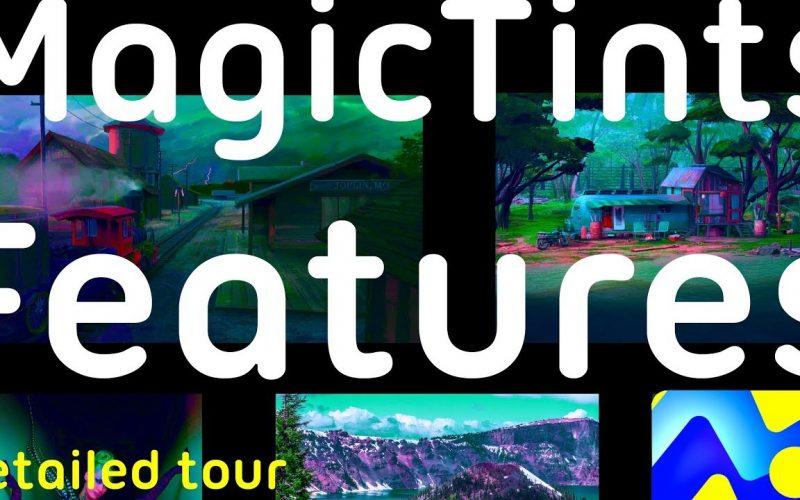 MagicTints coincidencia de colores en Photoshop. El desarrollador de herramientas de pintura digital Anastasiy Safari publica MagicTints 2