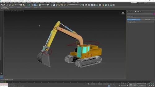 Manipular objetos mecánicos en 3dsMax. Muchas personas normalmente utilizan las herramientas de Rig para personajes, pero tiene más usos.