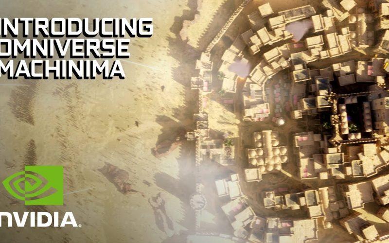 Omniverse Machinima crea animaciones con activos del juego, como se muestra en video making-of presentado por Nvidia para mostrar bondades.