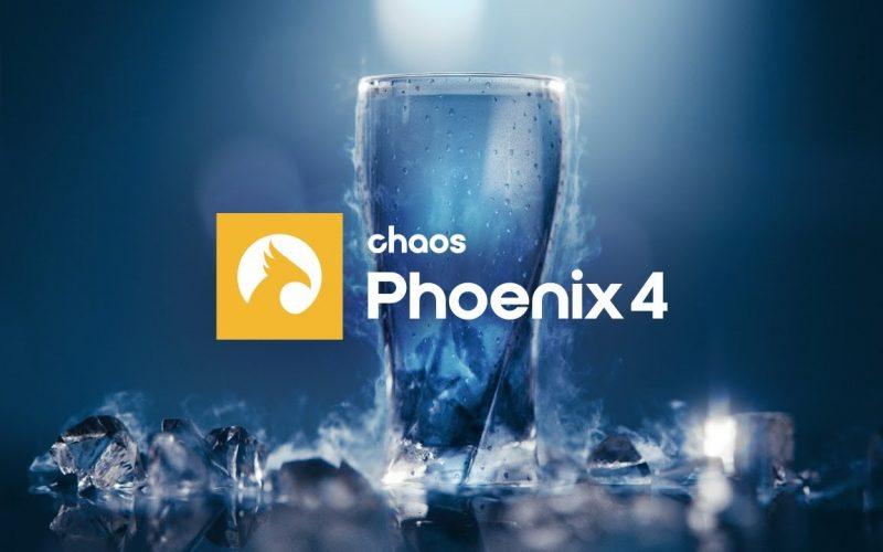 Phoenix FD versión 4.40 software de simulación de fluidos para 3ds Max y Maya, desde el océano hasta simples cubitos de hielo en un vaso.