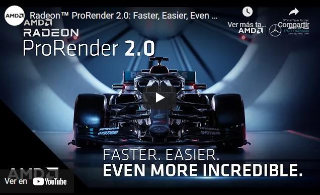 AMD ha publicado Radeon ProRender 3.1 para Blender y Maya