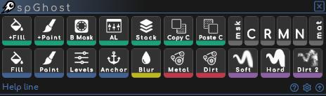 spGhost para Substance Painter, se trata de un conjunto de herramientas que automatizan tareas en Substance Painter optimizando el tiempo.
