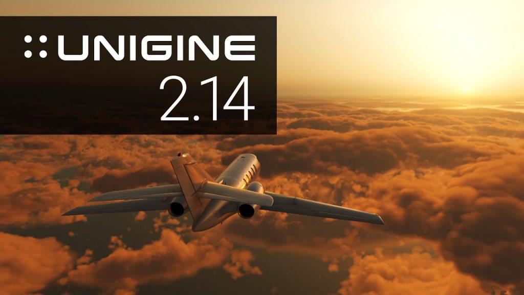 Unigine con nubes cumulonimbus y ondas de agua, el software se actualiza a la versión 2.14, con mejoras sustantivas para los usuarios.