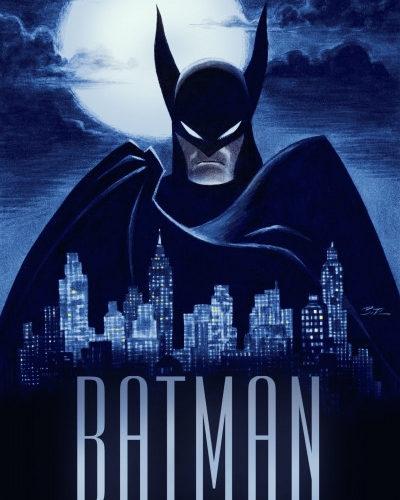 Batman el cruzado encapuchado