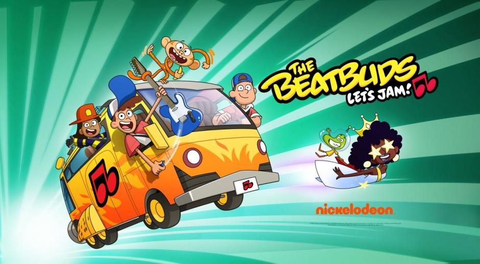 The BeatBuds serie animada en 2D.