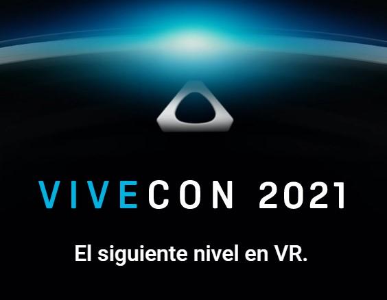 VIVECON 2021 evento anual de la compañía HTC en torno a su ecosistema de realidad virtual HTC Vive, que se celebra los días 11 y 12 de mayo.