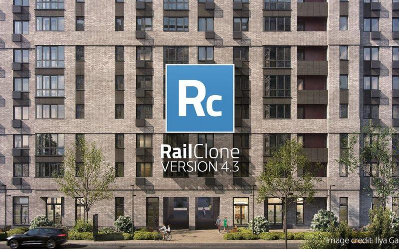 iToo Software RailClone 4.3. La actualización mejora el rendimiento con modelos complejos, ahora trabaja 500 veces más rápido.