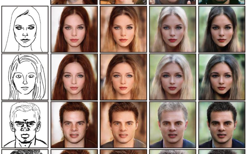 Deep Face Editing genera y edita rostros