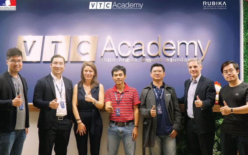 Rubika y VTC Vietnam se asocian para ampliar formación.