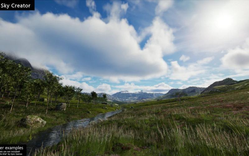 Sky Creator regula el entorno según el horario dinámico