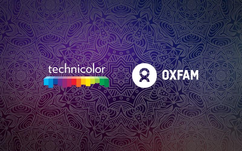 Technicolor y Oxfam India se asocian contra el Covid-19.
