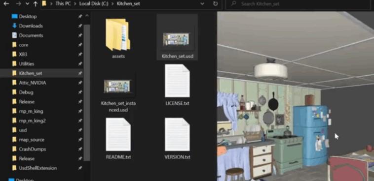 Activision USD Shell Extension permite ver y formatear archivos USD.