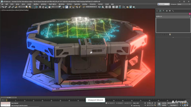 Autodesk publica 3ds Max 2022.1 con mejoras Smart Extrude.