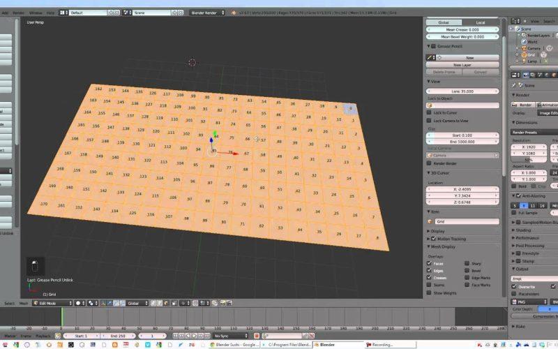 Hook para controlar polígonos del grid por un Empty.