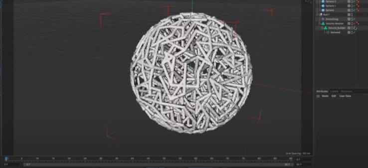 Network crea redes uniendo puntos de seguimiento.