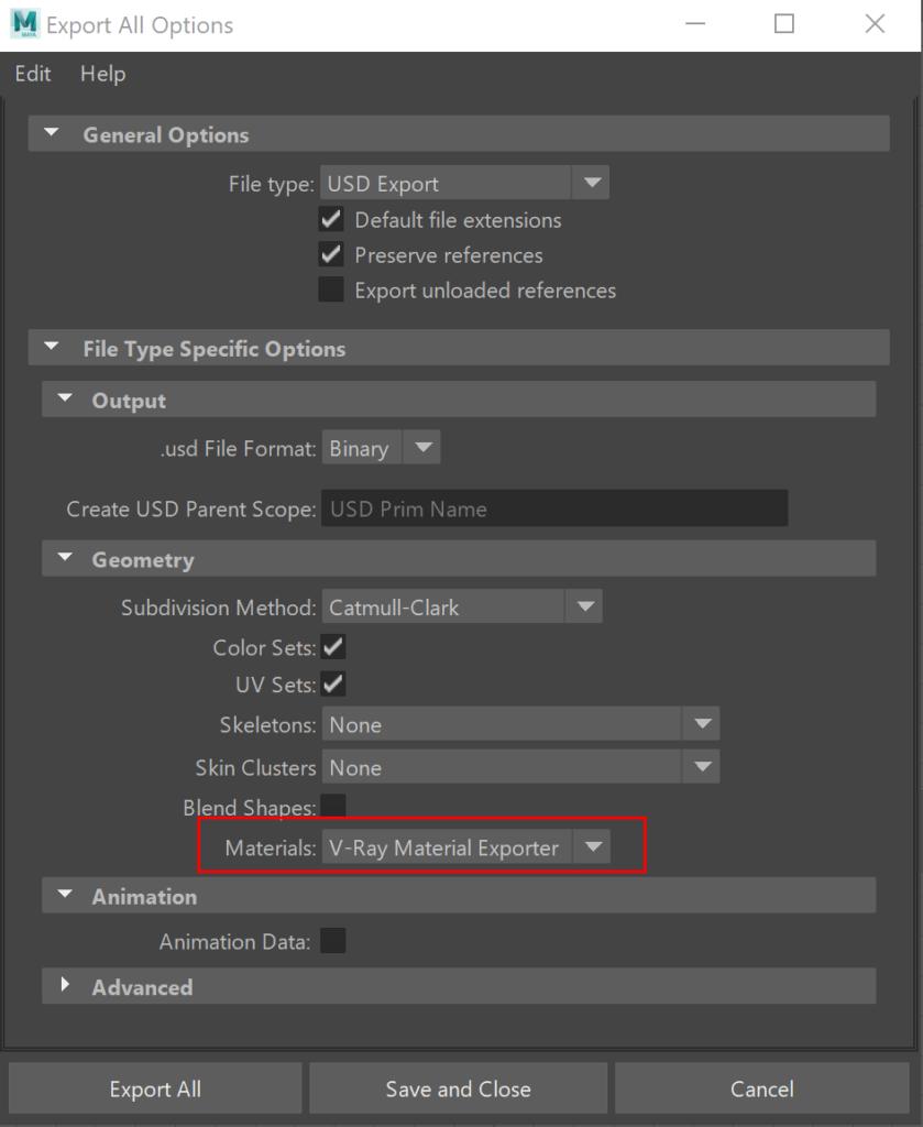 Vray 5 para Autodesk Maya primera actualización