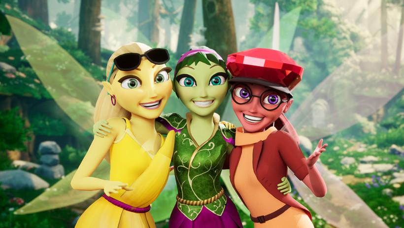 El hada verde es una aventura de fantasía en realidad virtual.
