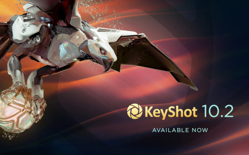 KeyShot 10.2 llega con algunos cambios importantes.