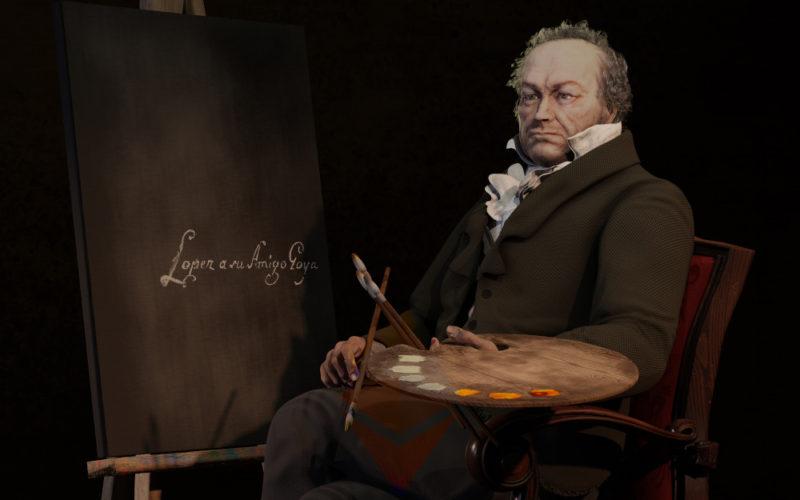 Tributo a Goya por el artista Cehvalbuena