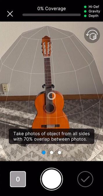 Unity y Apple desarrollan Object Capture para modelado 3D