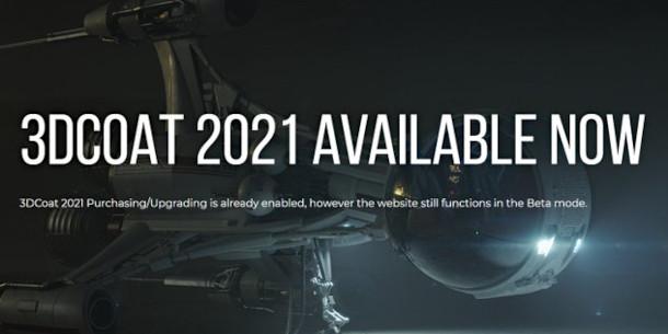 3DCoat 2021 amplía sus herramientas y posibilidades
