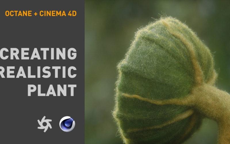 Crear una planta realista con C4D y Octane Render